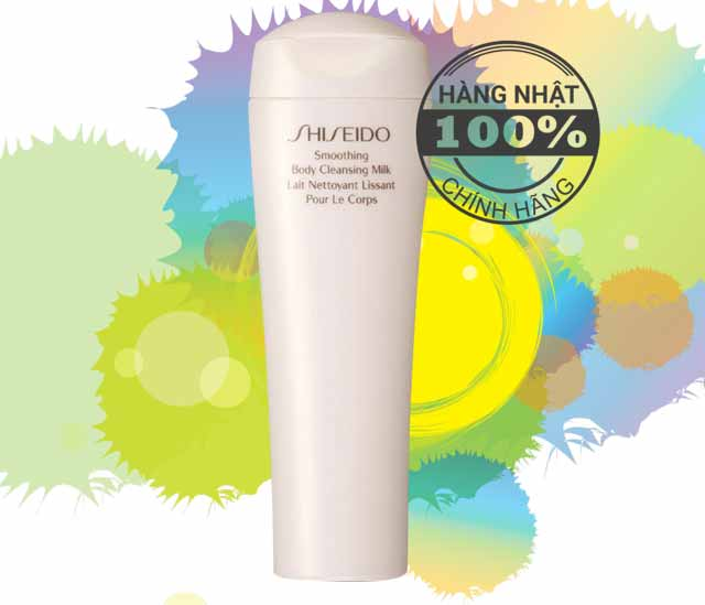 Sữa tắm Shiseido Smoothing Body Cleansing Milk...